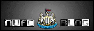 NUFC Blog logo.