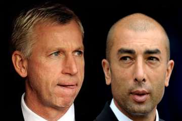 Alan Pardew and Roberto di Matteo.