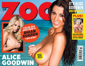 Zoo magazine cover.
