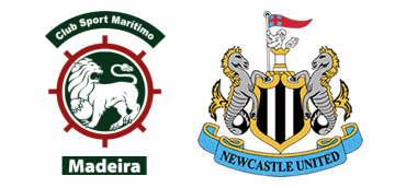 S.C. Maritimo v Newcastle United.