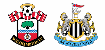 Southampton v Newcastle United.