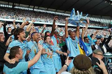 Man City: Premier League champions 2011-12.