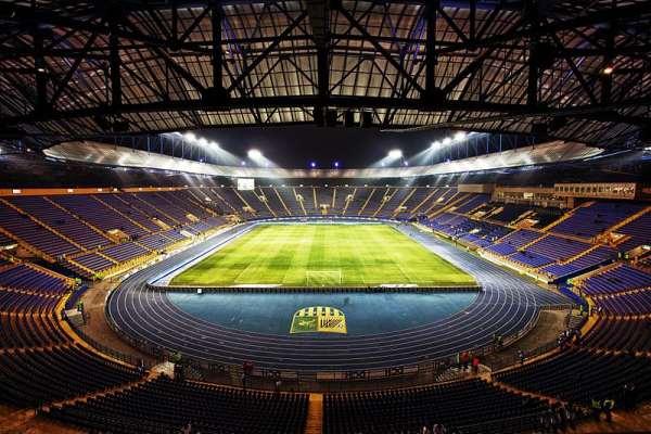 The Metalist Oblast Sports Complex, Kharkiv.