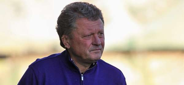 Metalist Kharkiv's Head Coach, Myron Markevych.