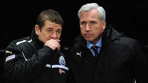 John Carver and Alan Pardew.