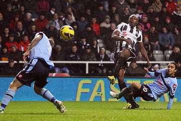 Shola Ameobi scoring v QPR.