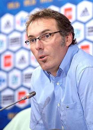 Laurent Blanc press conference.