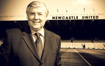 Joe Kinnear at St James' Park.