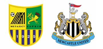 Metalist Kharkiv v Newcastle United.