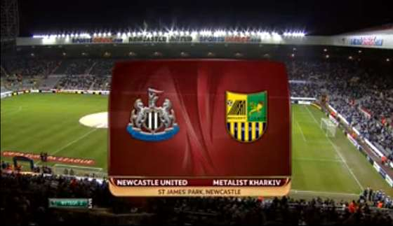 Newcastle United v Metalist Kharkiv full match video.