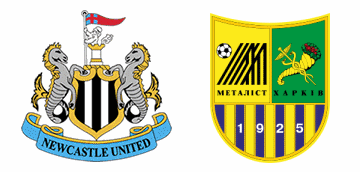 Newcastle United v Metalist Kharkiv.