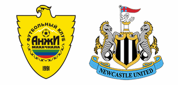 Anzhi Makhachkala v Newcastle United.