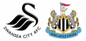 Swansea v Newcastle United.