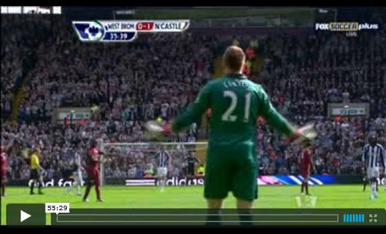 West Brom v Newcastle United full match video.