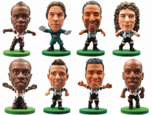 Model Newcastle United players.