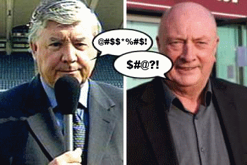 Joe Kinnear and Graham Carr.