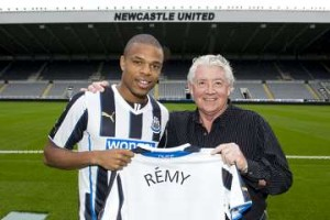 Joe Kinnear and Loic Remy.