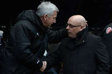 Alan Pardew and Brian McDermott.