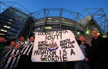 Revolting Newcastle United fans.