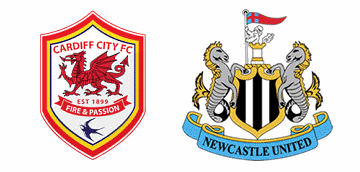 Cardiff City v Newcastle United.