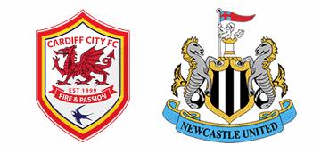 Cardiff City v Newcastle United.