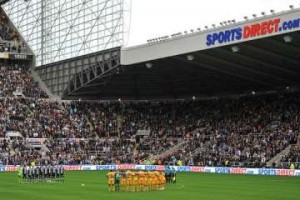 Sports Direct signs at SJP.