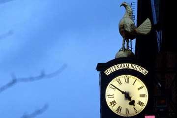 Tottenham Hotspur clock.