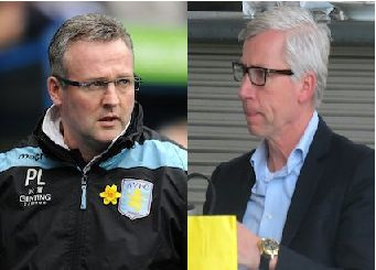 Paul Lambert & Alan Pardew