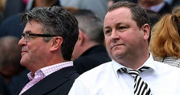 Mike Ashley and Keith Bishop.