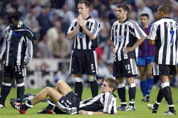 Newcastle United vs Partizan Belgrade - 2003