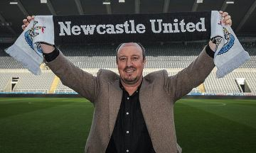 Rafa joins the Tyneside madness!