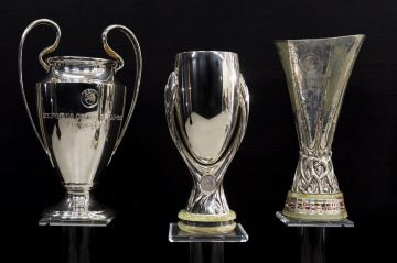 European football trophies