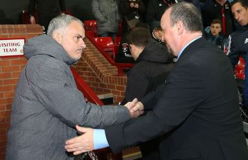 Rafa Benitez and Jose Mourinho.