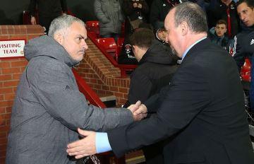 Rafa Benitez and Jose Mourinho.