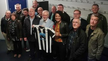 Corbyn in Newcastle