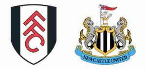 Fulham v Newcastle United.
