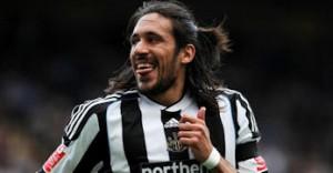 Jonas Gutierrez says he's happy at Newcastle United
