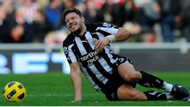 Alan Smith - back in training for Newcastle United