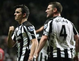 Joey Barton and Kevin Nolan.
