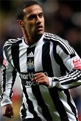 Alleged Wigan interest in Newcastle's Wayne Routledge.