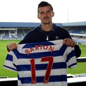 joey Barton signs for QPR.