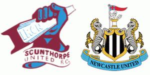 Scunthorpe v Newcastle United match banter.