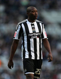 Newcastle United's Shola Ameobi gets a 2 year contract extension.