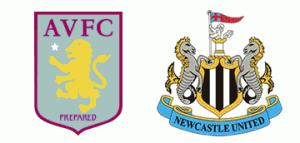 Aston Villa v Newcastle United.
