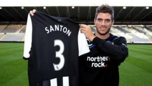 Davide Santon: Knee knacked again.
