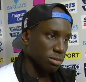 Demba Ba talks about his hat-trick for Newcastle United vs Blackburn.