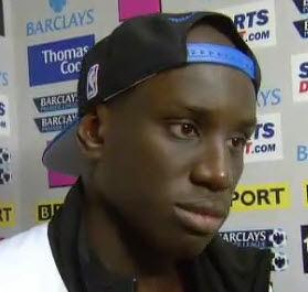 Demba Ba talks about his hat-trick for Newcastle United vs Blackburn.