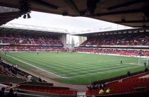 Nottingham Forest's City Ground.