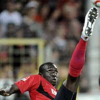 Newcastle United target Papiss Demba Cisse.