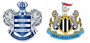 QPR v Newcastle United.
